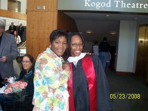 Darnaya and I at her UMD Graduation '08