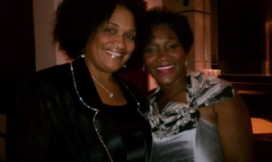 Elder Vikki Kennedy Johnson & I