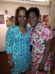 Advancement Project's Co-Director, Mrs. Judith Dianis & I