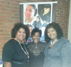Dr. Shiral Green, Myself & Lady Michelle Green at AOLCWC's Bruncheon 2013